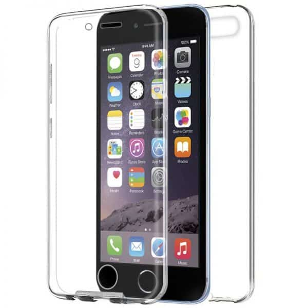 Funda Silicona 3D iPhone 6 / 6s (Transparente Frontal + Trasera) 1