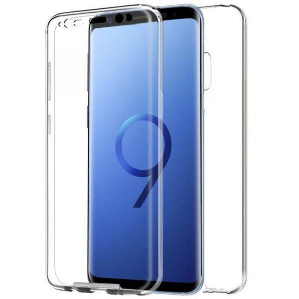 Funda Silicona 3D Samsung G960 Galaxy S9 (Transparente Frontal + Trasera) 1
