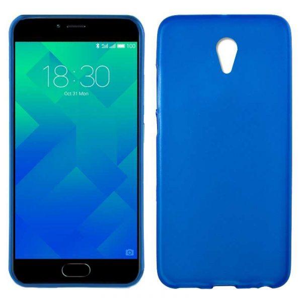 Funda Silicona Meizu M5 (Azul) 1