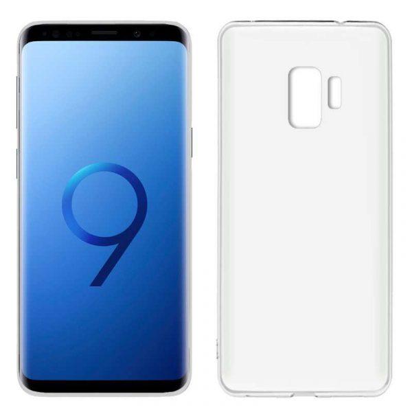 Funda Silicona Samsung G960 Galaxy S9 (Transparente) 1