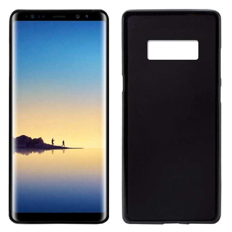 Funda Note negro Galaxy Samsung N950 8 Silicona