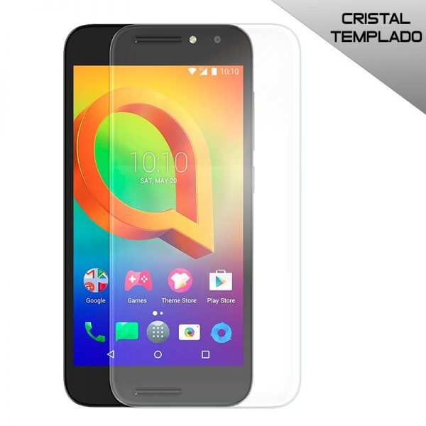 protector pantalla cristal templado alcatel a3