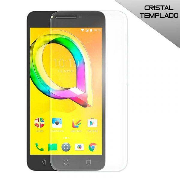 protector pantalla cristal templado alcatel a5 led
