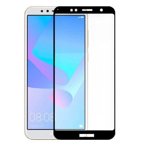protector pantalla cristal templado huawei y6 2018 honor 7a 3d negro