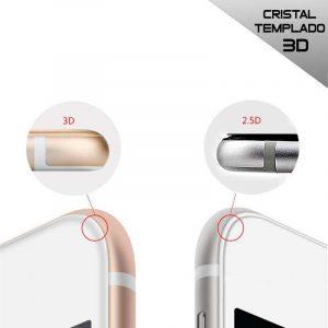 protector pantalla cristal templado iphone 6 6s full 3d negro 1