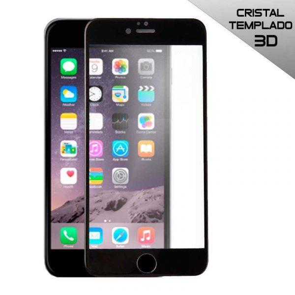 protector pantalla cristal templado iphone 6 6s full 3d negro
