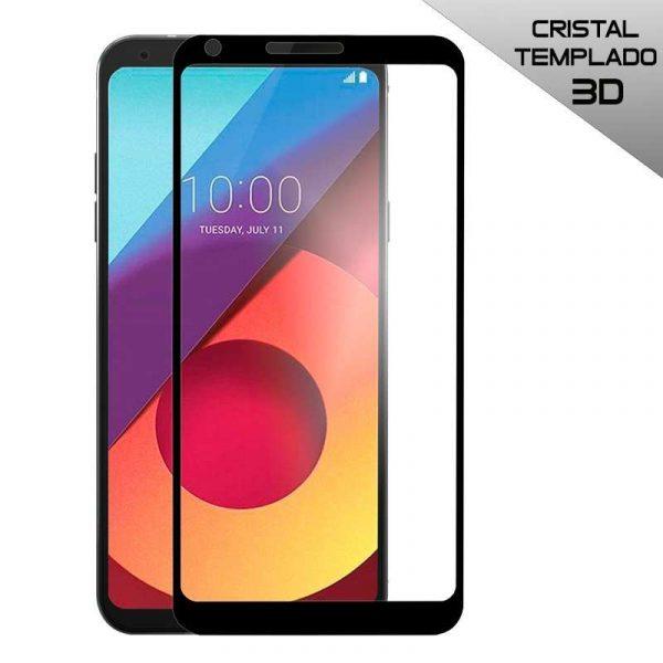 protector pantalla cristal templado lg q6 q6 alpha q6 plus 3d negro