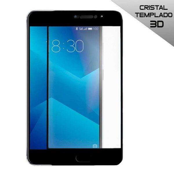 protector pantalla cristal templado meizu m5 note 3d negro