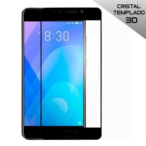protector pantalla cristal templado meizu m6 note 3d negro