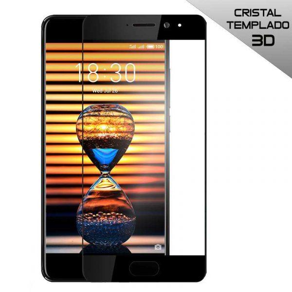 protector pantalla cristal templado meizu pro 7 3d negro
