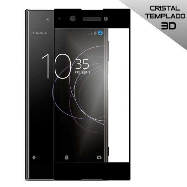 protector pantalla cristal templado sony xperia xa1 plus 3d negro