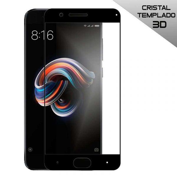 protector pantalla cristal templado xiaomi mi note 3 3d negro