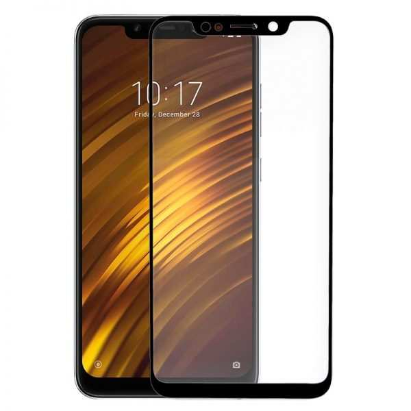 protector pantalla cristal templado xiaomi pocophone f1 3d negro