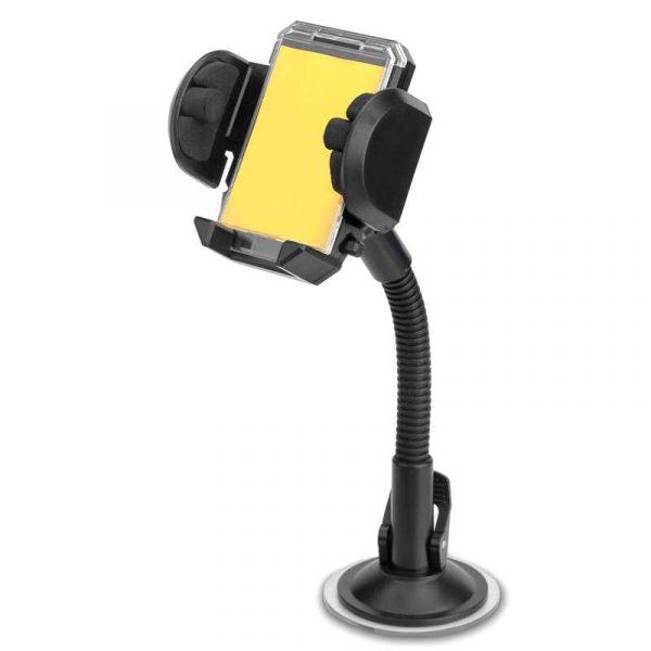 soporte universal de coche ventosa para movil brazo largo 1