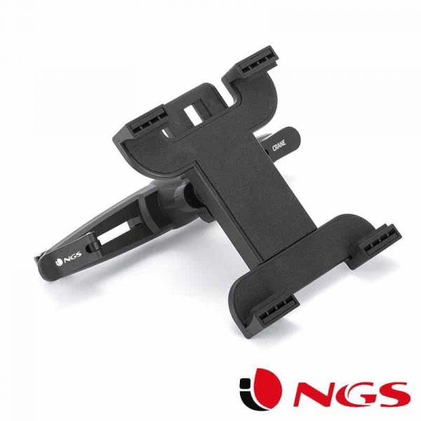 Soporte Universal Reposacabezas de Coche para Tablet NGS Crane 3