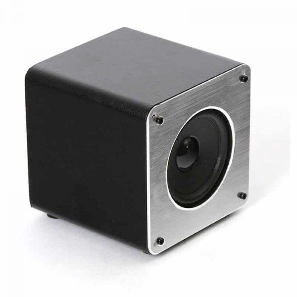Altavoz Música Universal Bluetooth Marca Omega Cuadrado Plata (5W) 2