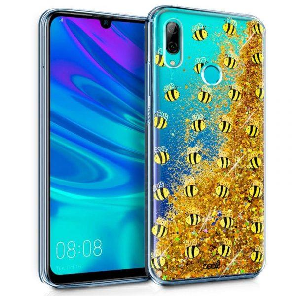 Carcasa Huawei P Smart (2019) / Honor 10 Lite Glitter Abejas 1