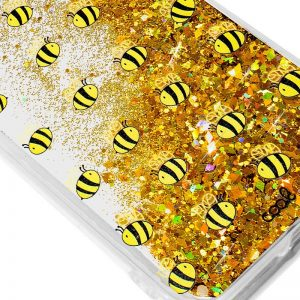 Carcasa Huawei P20 Lite Glitter Abejas 3