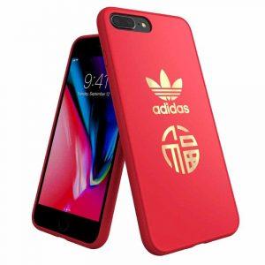 Carcasa iPhone 7 Plus / iPhone 8 Plus Licencia Adidas Rojo 5