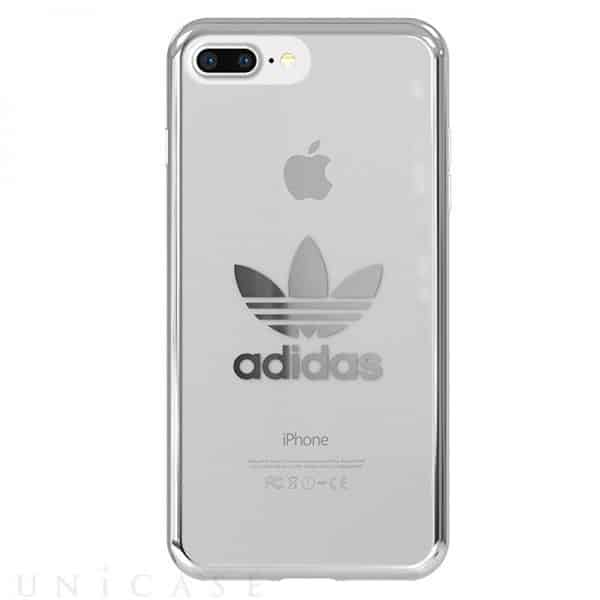 Carcasa iPhone 7 Plus / iPhone 8 Plus Licencia Adidas Transparente Plata 2