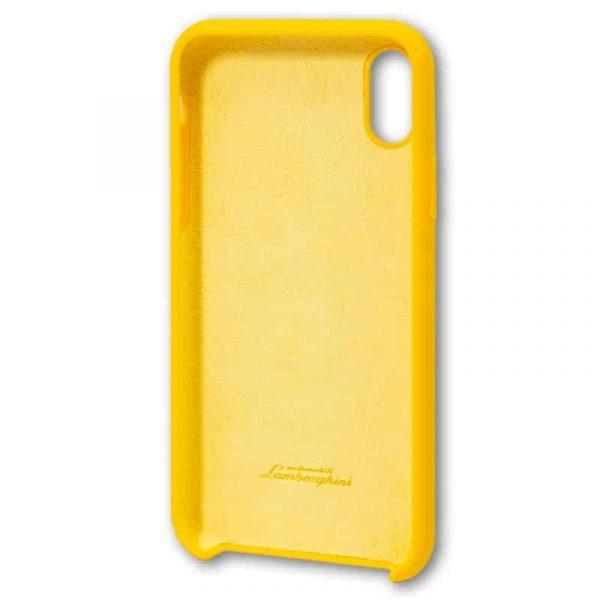 Carcasa iPhone X / iPhone XS Licencia Lamborghini Amarillo 4