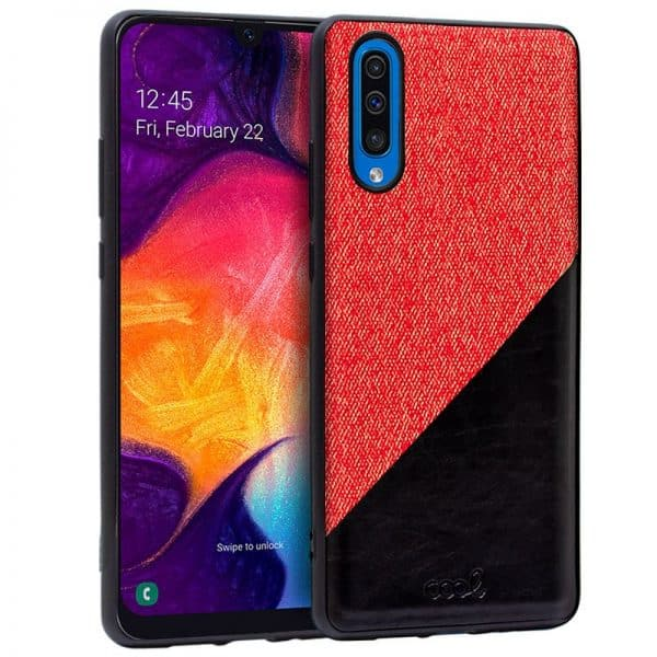 Carcasa Samsung A505 Galaxy A50 Bicolor Rojo 1