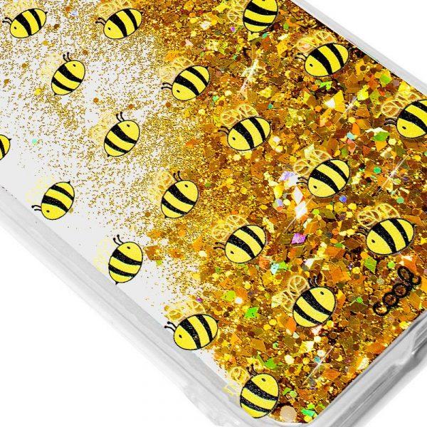 Carcasa Samsung G975 Galaxy S10 Plus Glitter Abejas 2