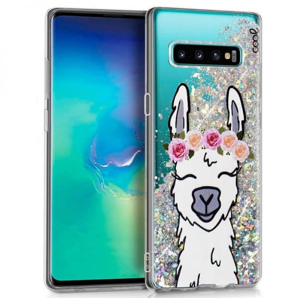 Carcasa Samsung G975 Galaxy S10 Plus Glitter Llama 1