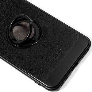 Carcasa Samsung G975 Galaxy S10 Plus Leather Piel Negro 3