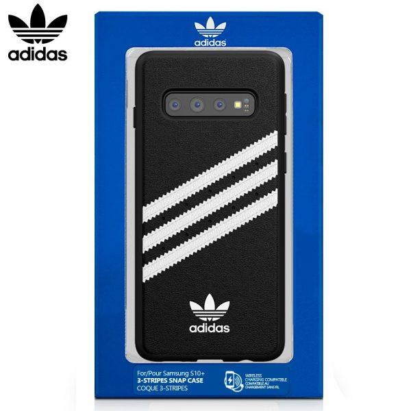 Carcasa Samsung G975 Galaxy S10 Plus Licencia Adidas Negro 1