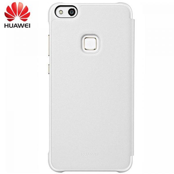 Funda Original Huawei P10 Lite Flip Cover Blanca (Con Blister) 2