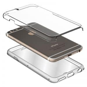 Funda Silicona 3D Huawei P Smart (Transparente Frontal + Trasera) 3