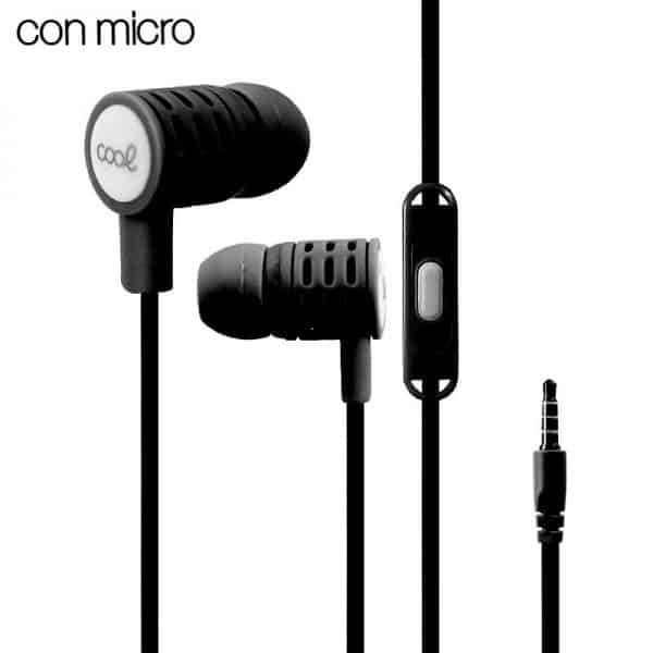 auriculares 35 mm cool extra bass stereo con micro negro2