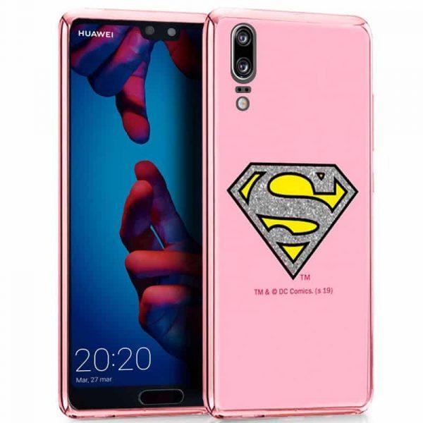 carcasa huawei p20 licencia dc glitter superman2