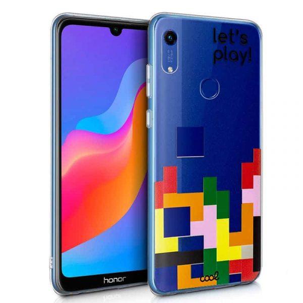 Carcasa Huawei Y6 (2019) / Honor 8A Lite Clear Game 1