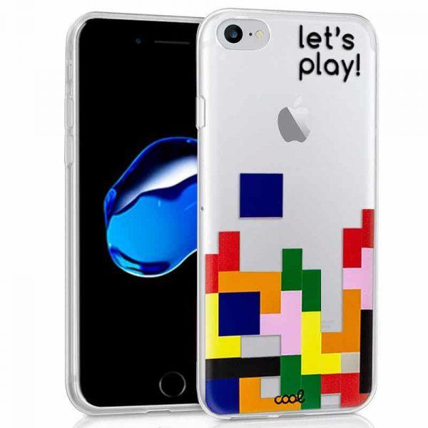 Carcasa iPhone 7 / iPhone 8 Clear Game 1