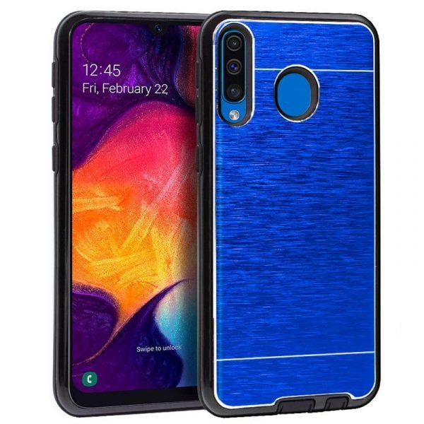 Carcasa Samsung A505 Galaxy A50 Aluminio (Azul) 1