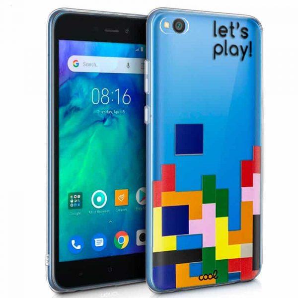 Carcasa Xiaomi Redmi Go Clear Game 1