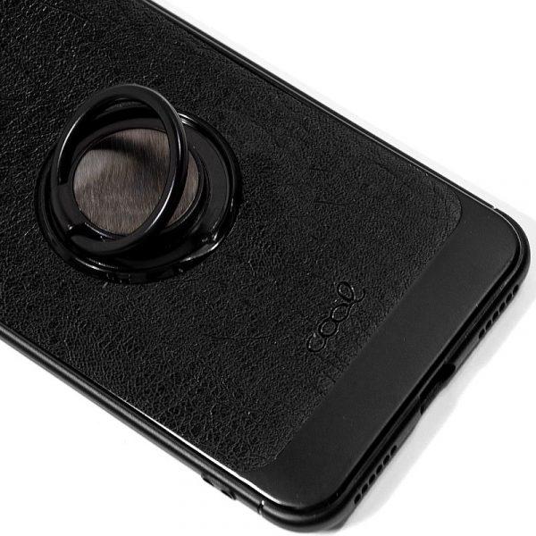 carcasa xiaomi redmi note 6 pro leather piel negro2