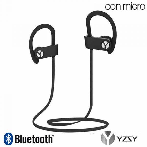 Auriculares Stereo Bluetooth Deportivos Dinox YZSY Black 1