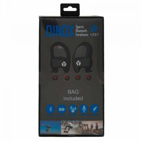 Auriculares Stereo Bluetooth Deportivos Dinox YZSY Black 3
