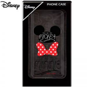Carcasa iPhone X / iPhone XS Licencia Disney Mickey and Minnie 3