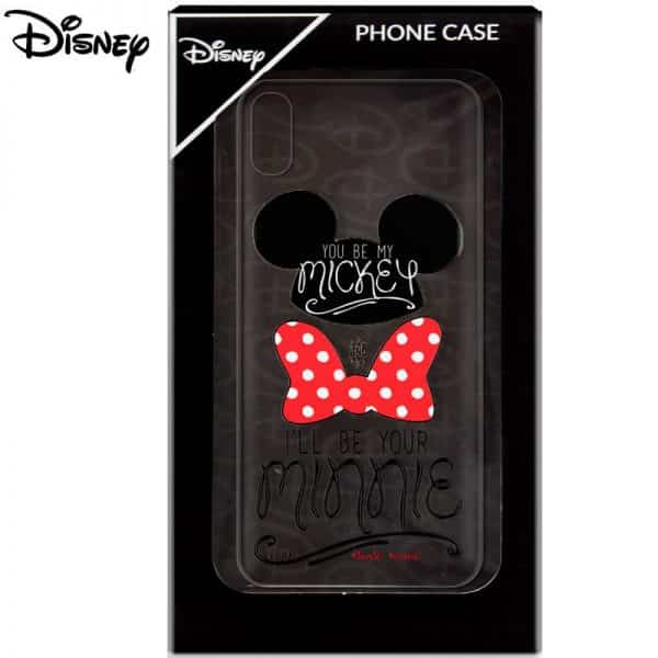 Carcasa iPhone X / iPhone XS Licencia Disney Mickey and Minnie 2