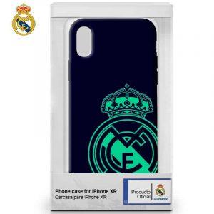 carcasa iphone xr licencia futbol real madrid marino