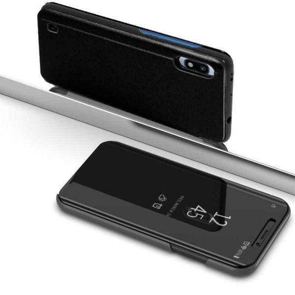 Funda Flip Cover Samsung A105 Galaxy A10 Clear View Negro 2