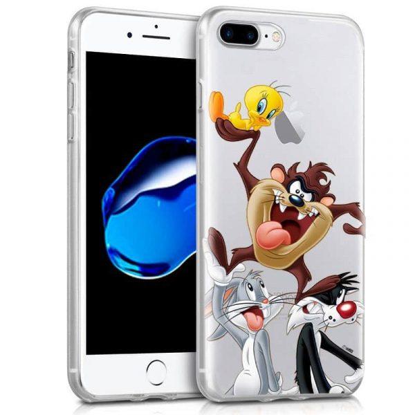 Carcasa iPhone 7 Plus / iPhone 8 Plus Licencia Looney Tunes Tazz 1