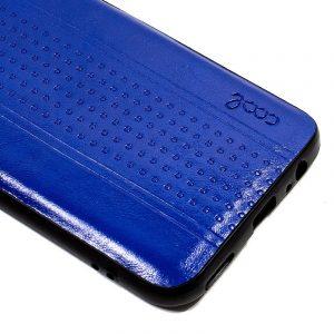 Carcasa Xiaomi Redmi Note 7 / Note 7 Pro Leather Piel Azul 3