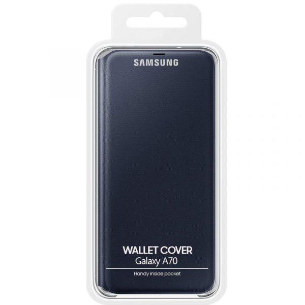 funda original samsung galaxy a70 wallet cover marino con blister2
