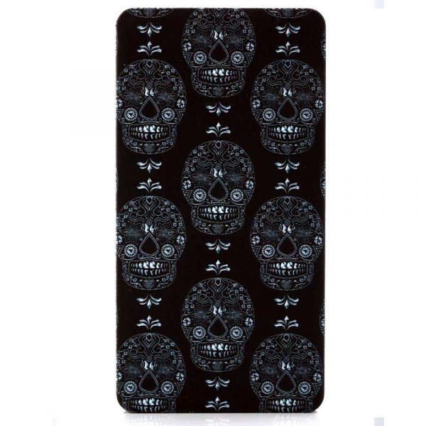 Bateria Externa Micro-Usb Power Bank 5000 MAh Design Skully YZSY 4