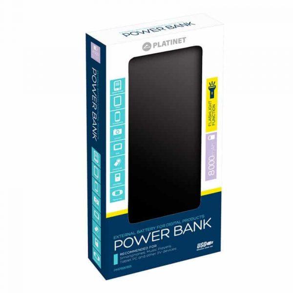 Bateria Externa Micro-Usb Power Bank 8000 MAh Platinet Azul 2